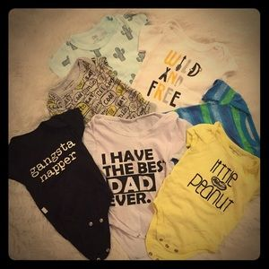 Other - Misc infant boy onsies size 0-3 months